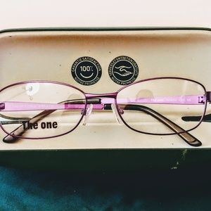 FRAn [The One] Glasses Frames Purple NEW